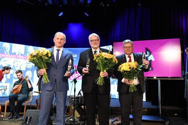 Witold Waszczykowski został laureatem plebiscytu Srebrne Usta 2017 / Foto: Wojciech Kusiński/Polskie Radio