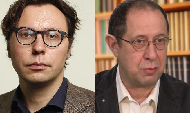 Od lewej: Rafał Woś i Wojciech Maziarski