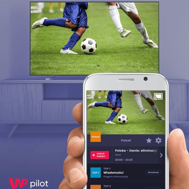 WP Pilot udostępniony na Chromecast