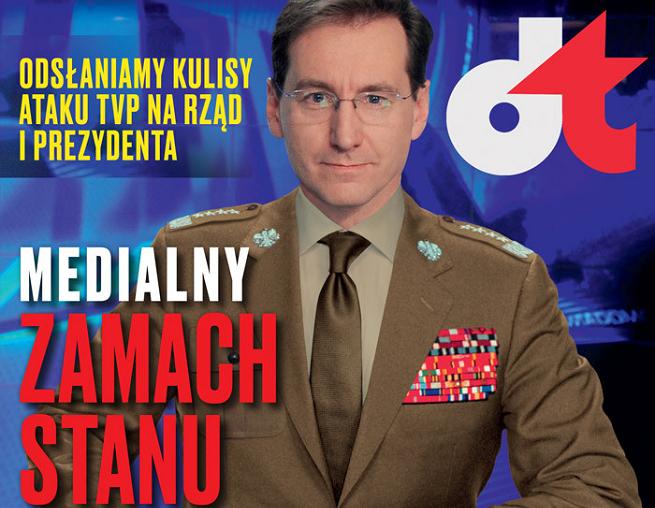 """Piotr Kraśko na okładce """"W Sieci"""""""