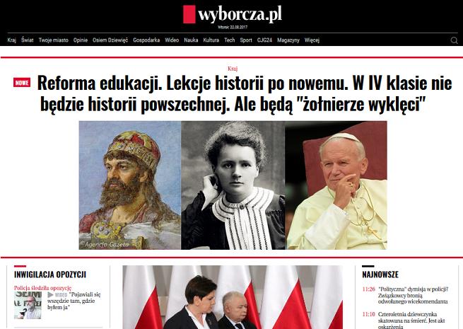 """""""Gazeta Wyborcza"""" w promocji obniża cenę subskrypcji cyfrowej o 67-80 proc."""