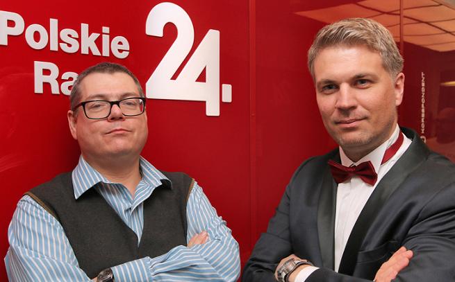 Od lewej: Dominik Zdort i Marek Zając, fot. Polskie Radio 24/MS