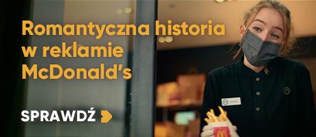 Romantyczna historia w reklamie McDonald's