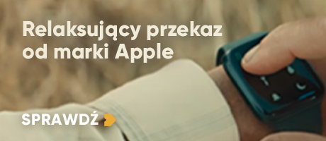 Relaksujący przekaz od marki Apple