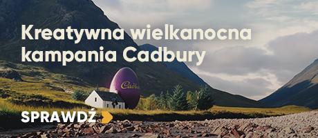 Kreatywna wielkanocna kampania Cadbury