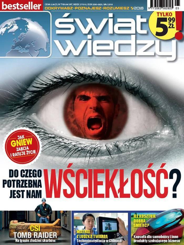 Świat Wiedzy -                     5/2018