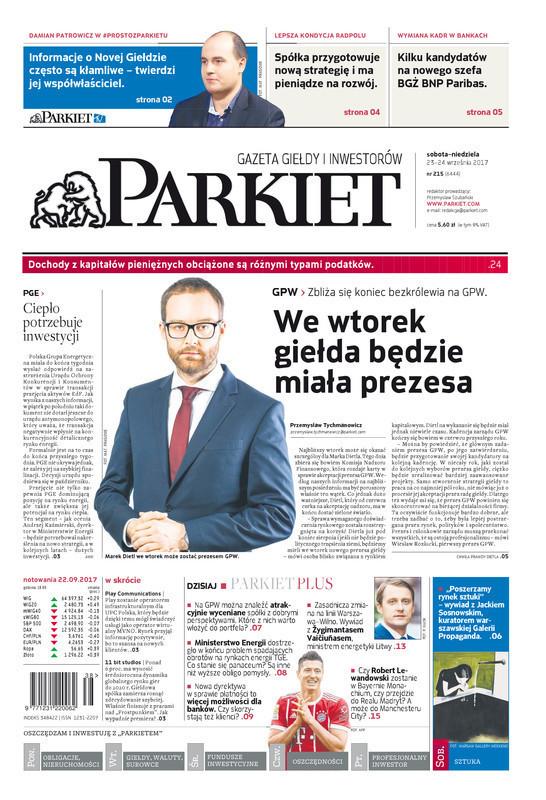 Parkiet -                     2017-09-23