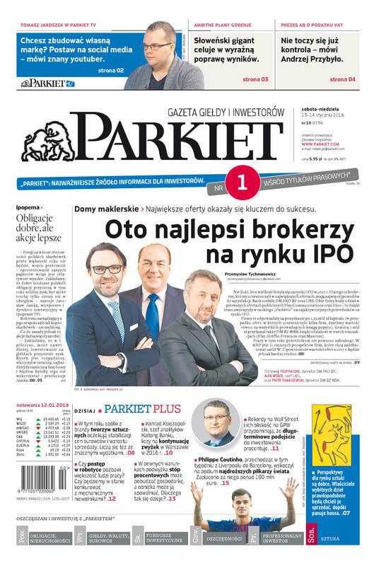 Parkiet -                     2018-01-13