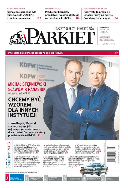 Parkiet -                     2018-05-21