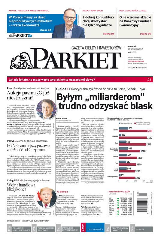 Parkiet -                     2019-01-10