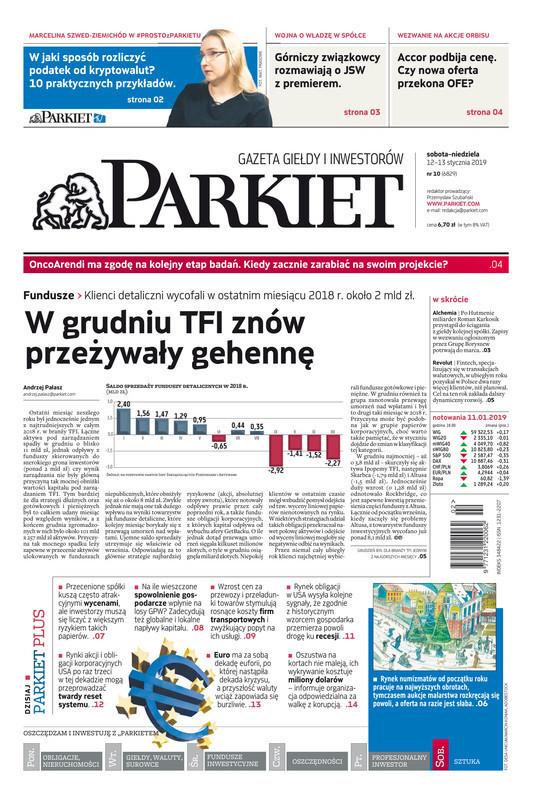 Parkiet -                     2019-01-12