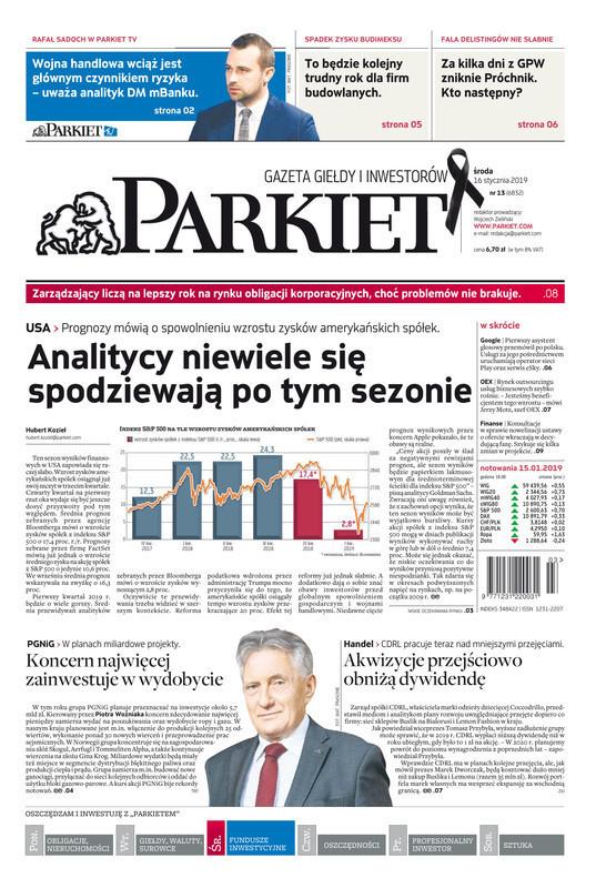 Parkiet -                     2019-01-16