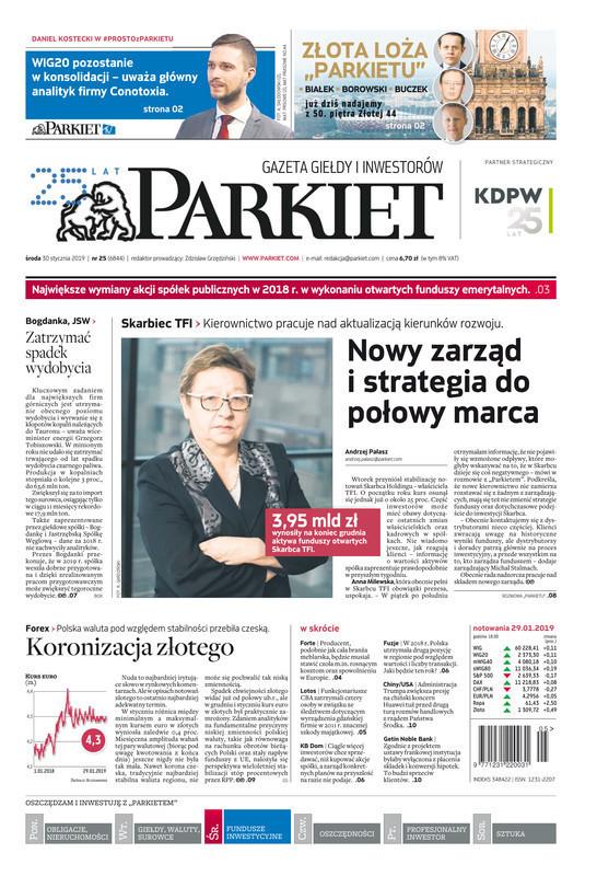 Parkiet -                     2019-01-30