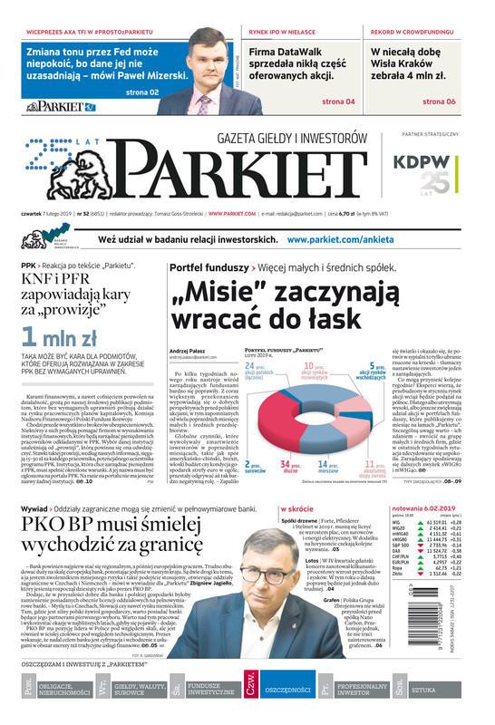 Parkiet -                     2019-02-07