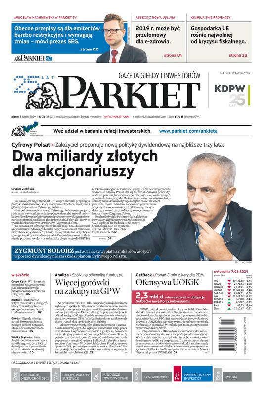 Parkiet -                     2019-02-08