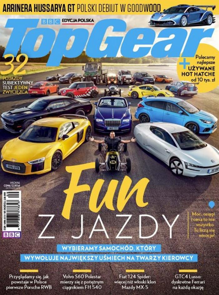 Top Gear -                     9/2016