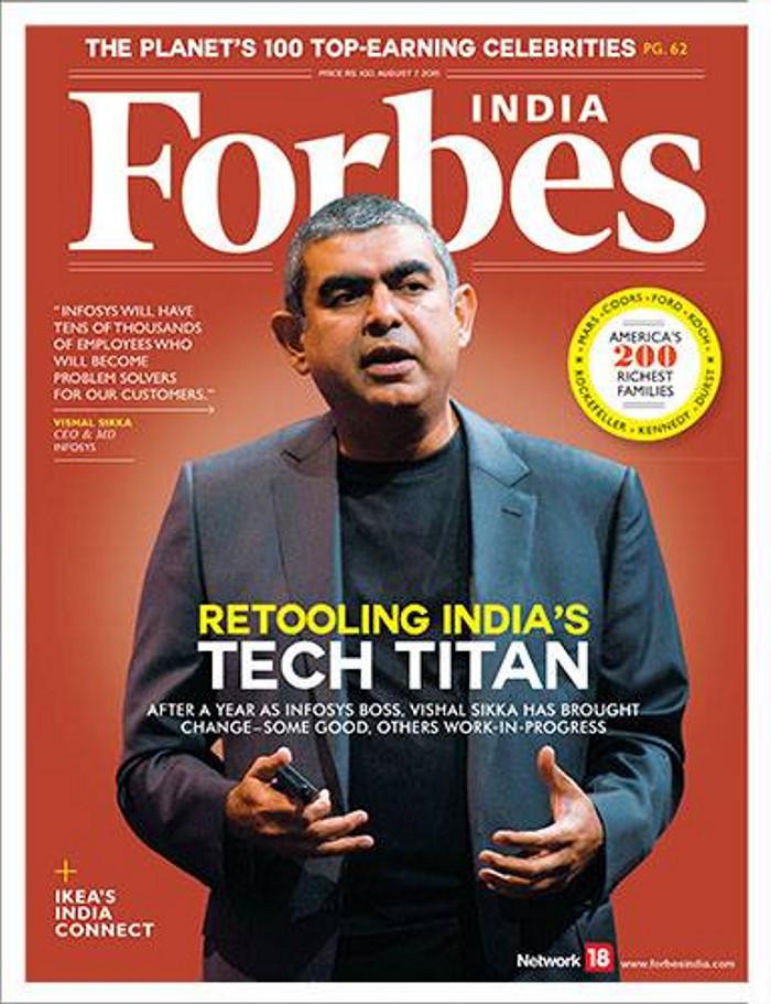 Forbes (świat) -                     india