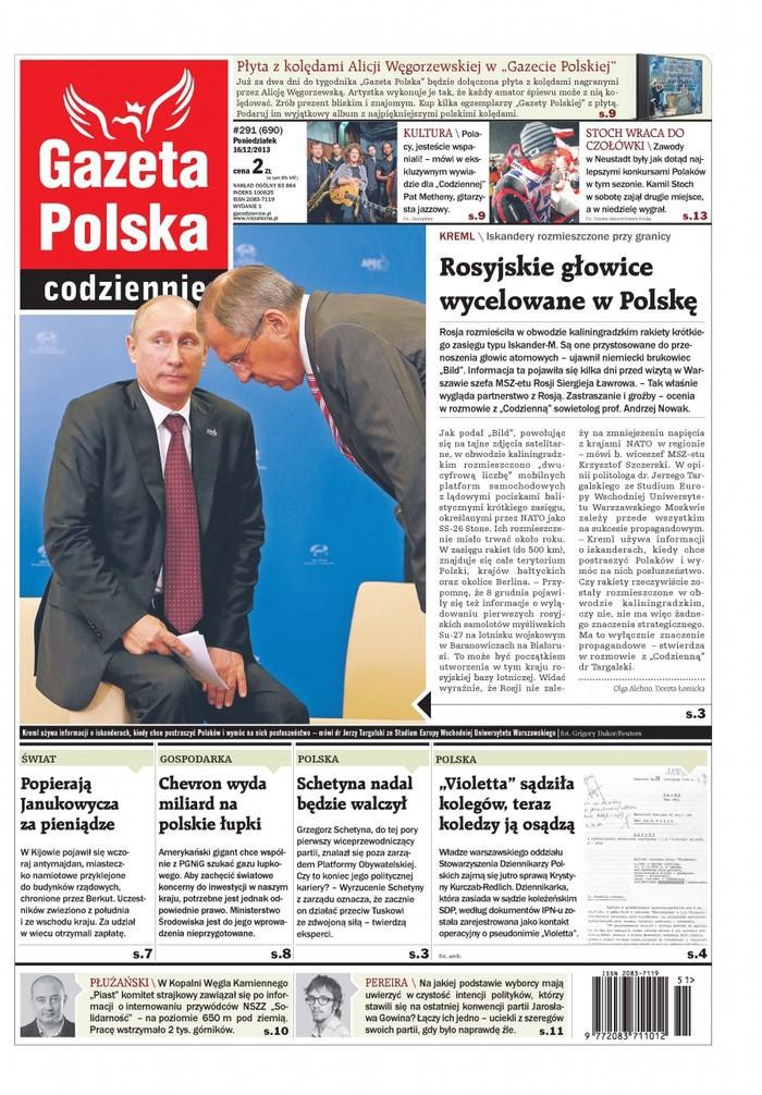 Gazeta Polska Codziennie -                     2013-12-16