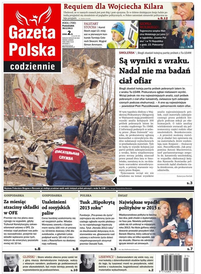 Gazeta Polska Codziennie -                     2013-12-30
