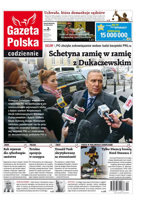 Gazeta Polska Codziennie -                     2018-01-13