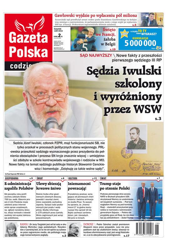 Gazeta Polska Codziennie -                     2018-07-12