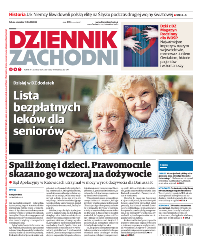 Dziennik Zachodni -                     2018-01-13