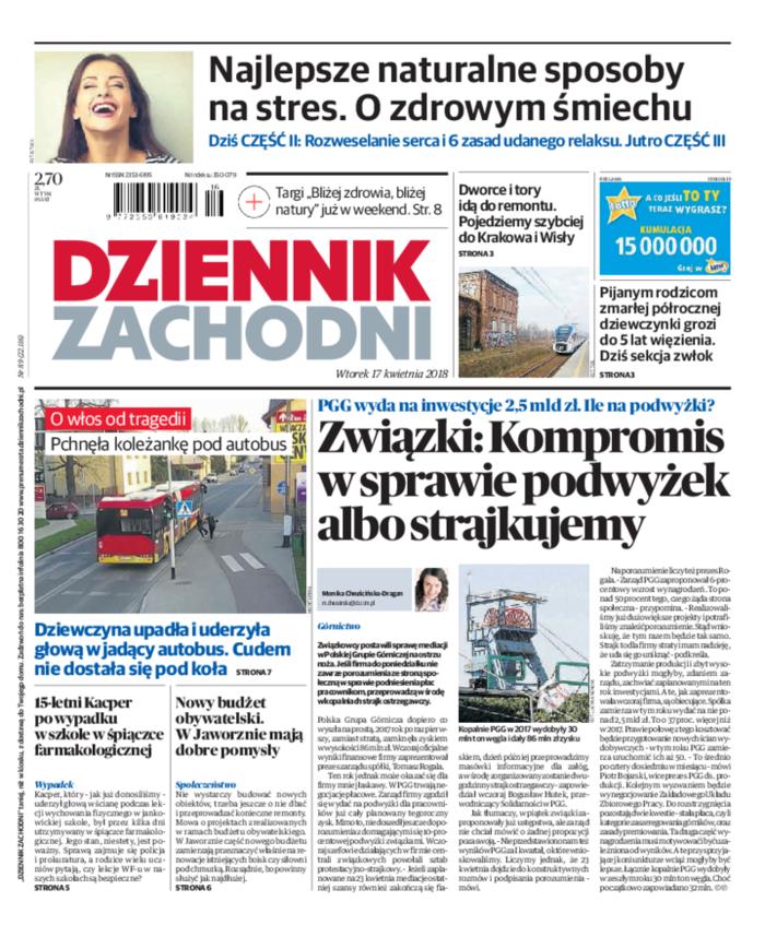 Dziennik Zachodni -                     2018-04-17