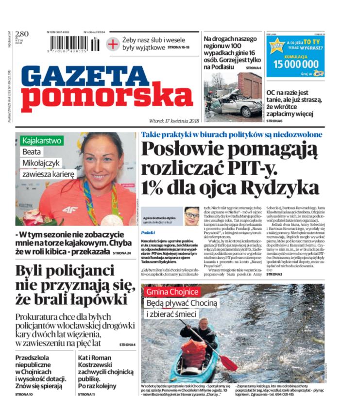 Gazeta Pomorska -                     2018-04-17