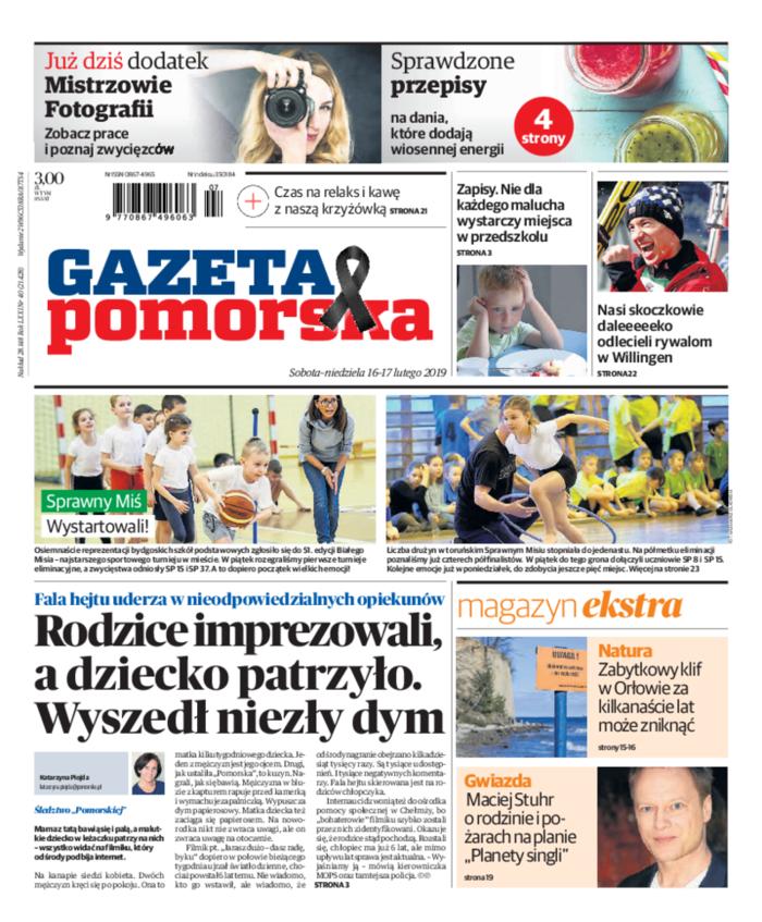 Gazeta Pomorska -                     2019-02-16