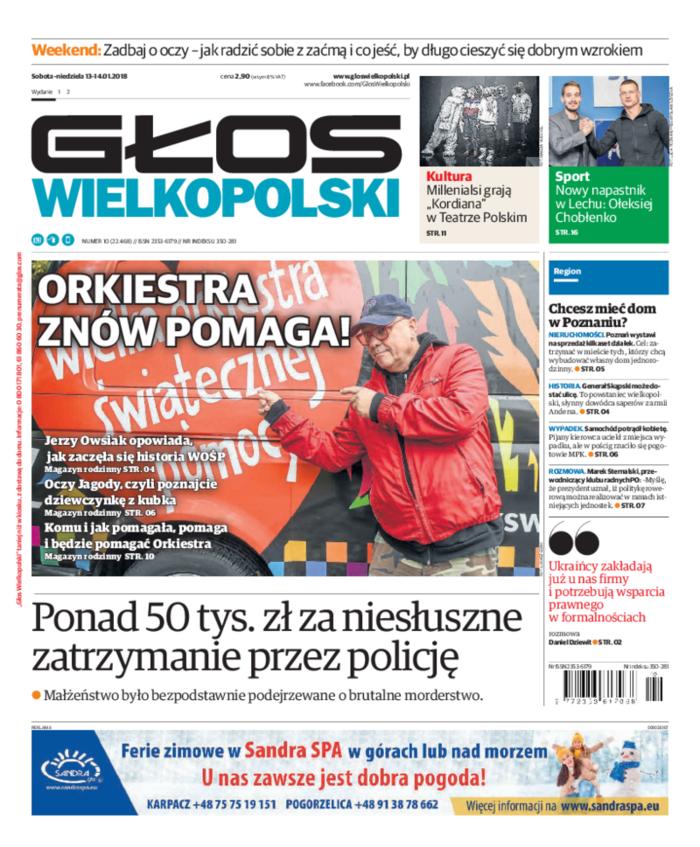 Głos Wielkopolski -                     2018-01-13