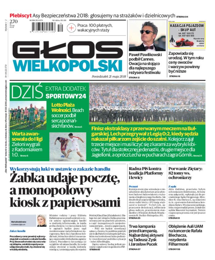 Głos Wielkopolski -                     2018-05-21