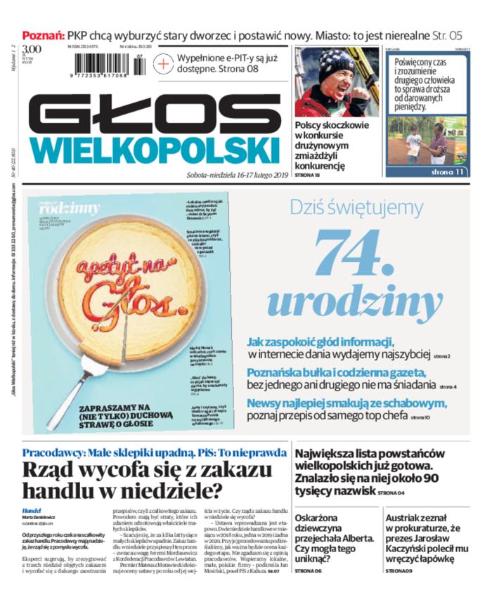 Głos Wielkopolski -                     2019-02-16