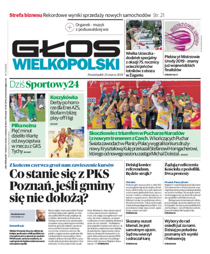 Głos Wielkopolski -                     2019-03-25