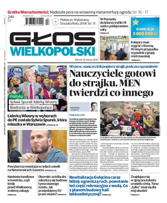 Głos Wielkopolski -                     2019-03-26