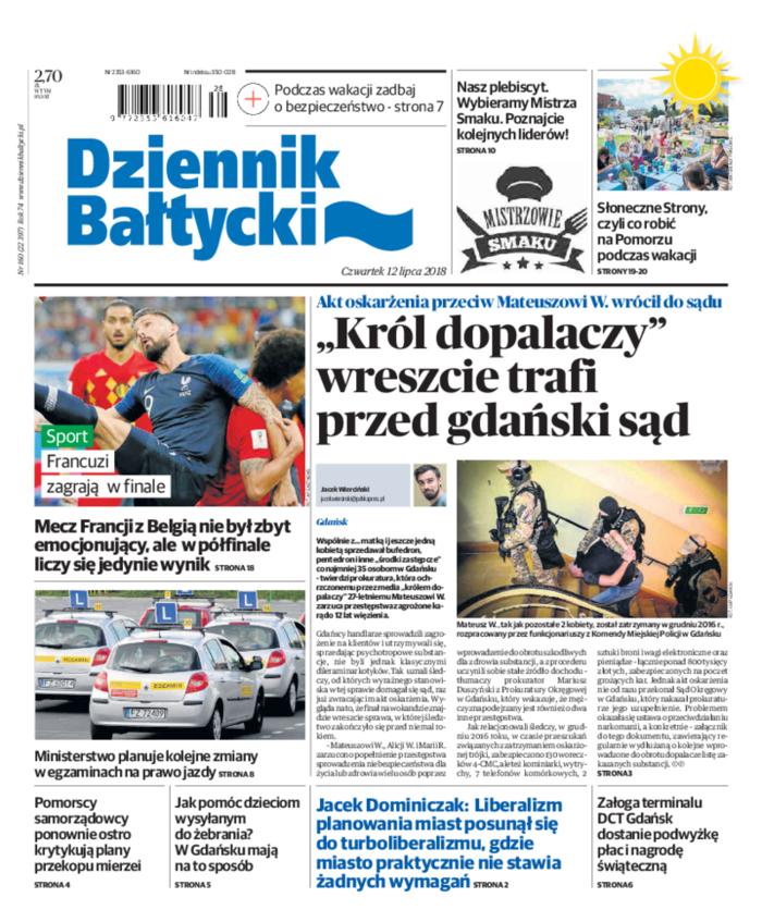 Dziennik Bałtycki -                     2018-07-12
