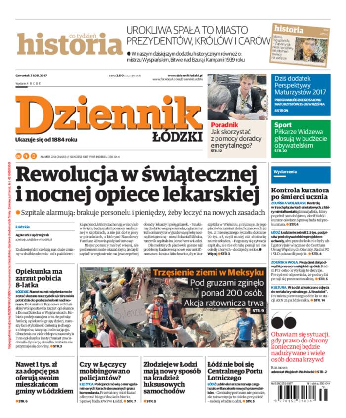 Dziennik Łódzki -                     2017-09-21