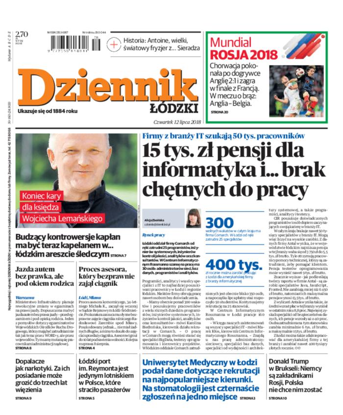 Dziennik Łódzki -                     2018-07-12
