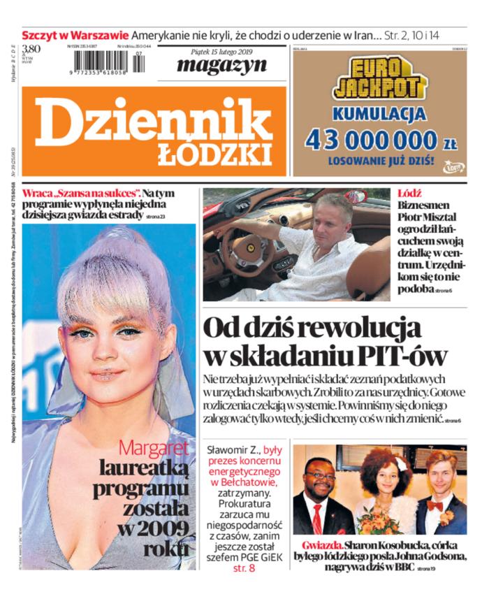 Dziennik Łódzki -                     2019-02-15