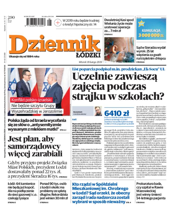 Dziennik Łódzki -                     2019-02-19