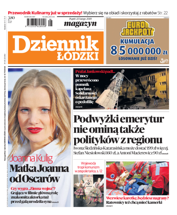 Dziennik Łódzki -                     2019-02-22