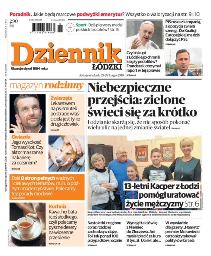 Dziennik Łódzki -                     2019-02-23