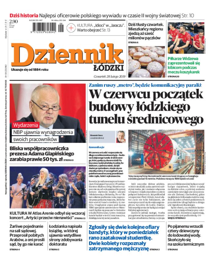 Dziennik Łódzki -                     2019-02-28