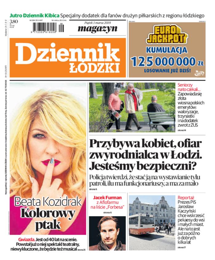 Dziennik Łódzki -                     2019-03-01