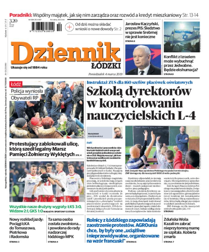 Dziennik Łódzki -                     2019-03-04