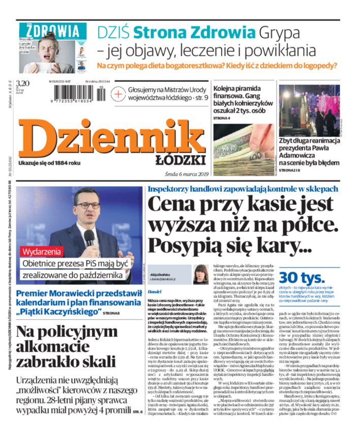 Dziennik Łódzki -                     2019-03-06