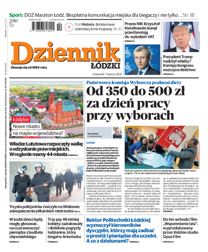 Dziennik Łódzki -                     2019-03-07