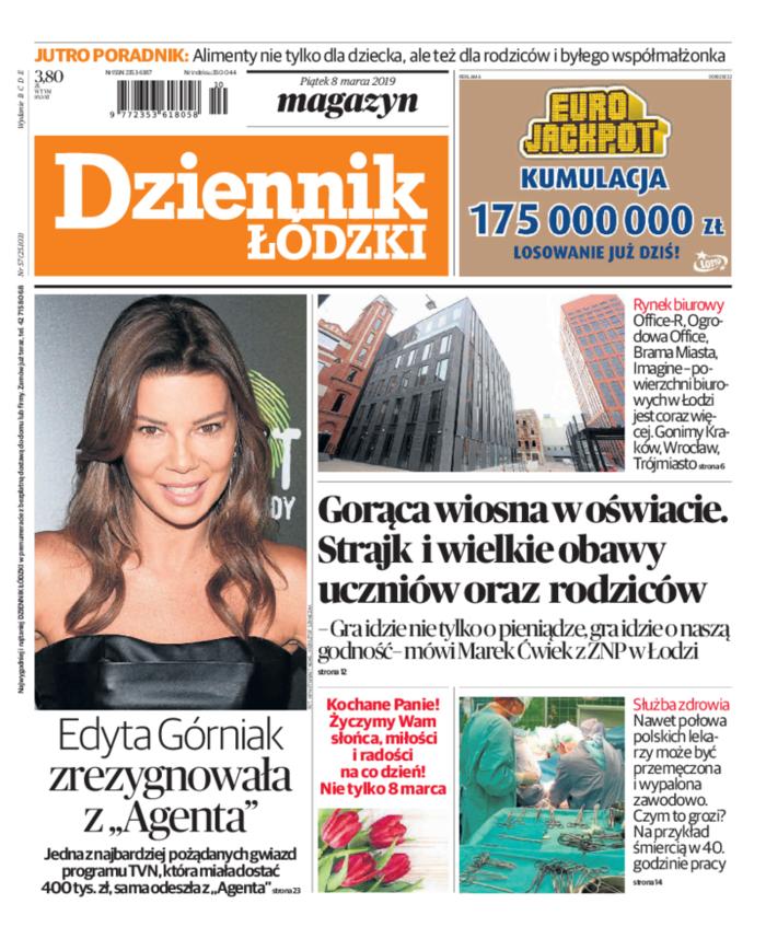 Dziennik Łódzki -                     2019-03-08