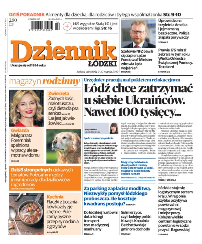 Dziennik Łódzki -                     2019-03-09