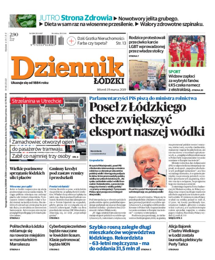 Dziennik Łódzki -                     2019-03-19