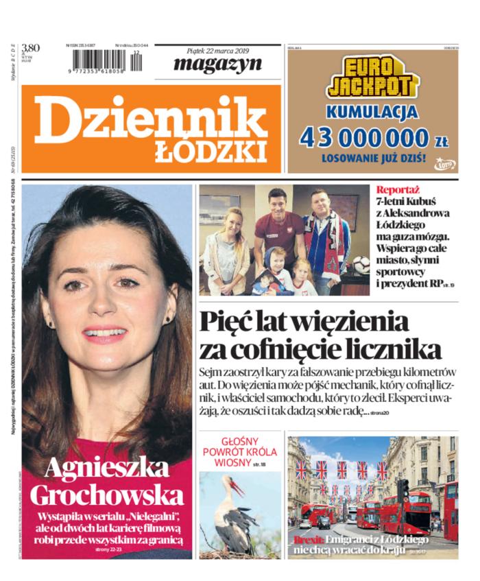 Dziennik Łódzki -                     2019-03-22